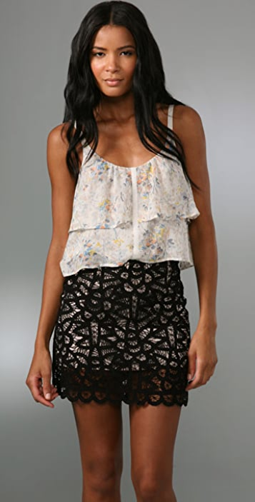 Madewell Fluttery Floral Tank