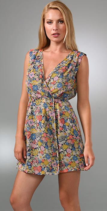 Madewell Windowbox Wrap Dress