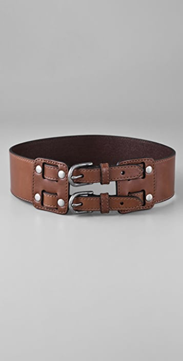 Madewell Double Lock Leather Belt