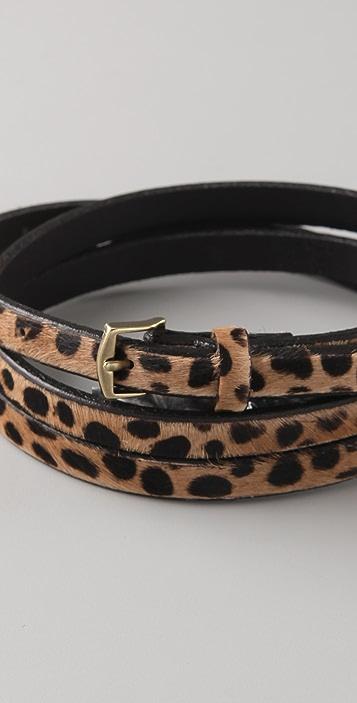 Madewell Cheetah Skinny Belt