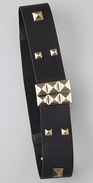 Madewell Vintage Stud Wide Belt