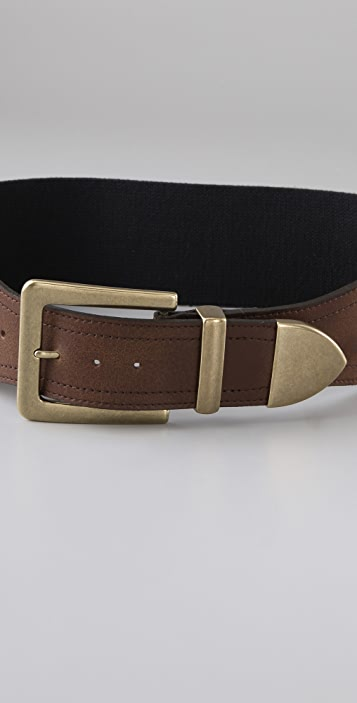 Madewell Wide Stretch Belt