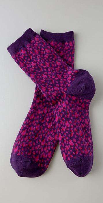 Madewell Cheetah Trouser Socks