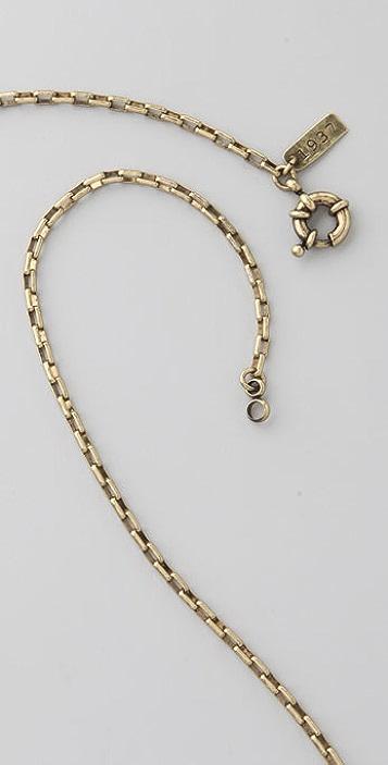 Madewell Thread Tassel Necklace