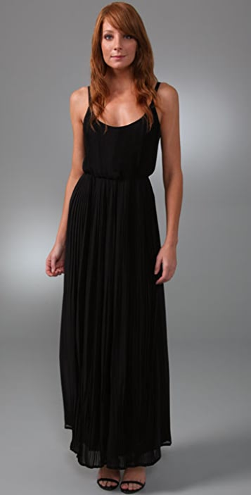 Madewell Pretty Pleats Gown