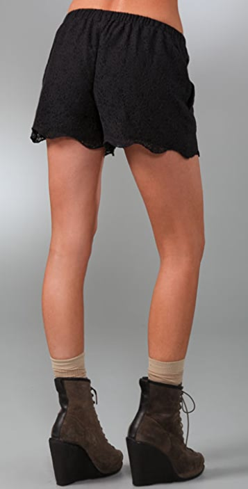 Madewell Lace Market Shorts
