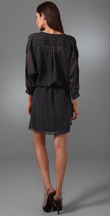 Madewell Dusky Blooms Dolman Dress