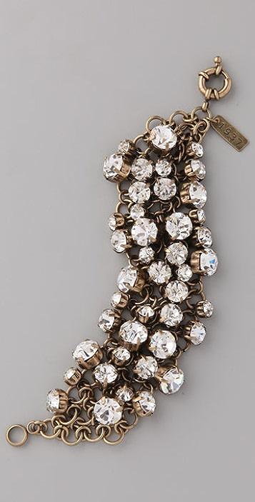 Madewell Ice Cluster Bracelet