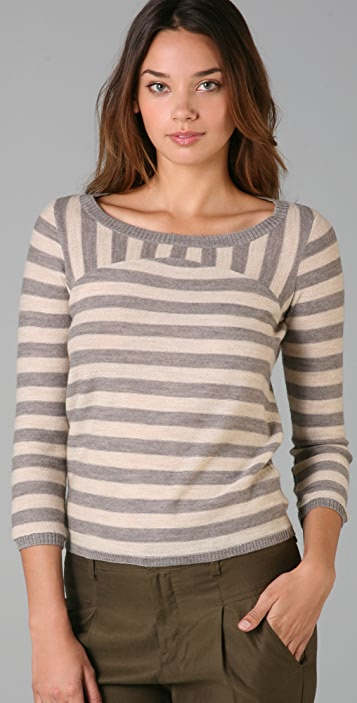 Madewell Bruno Striped Pullover Sweater