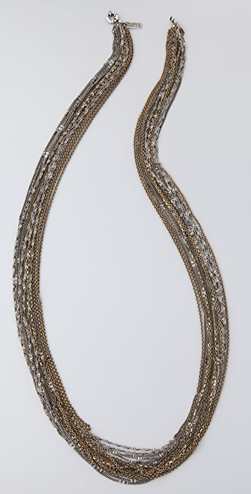 Madewell Long Fine Chain Necklace