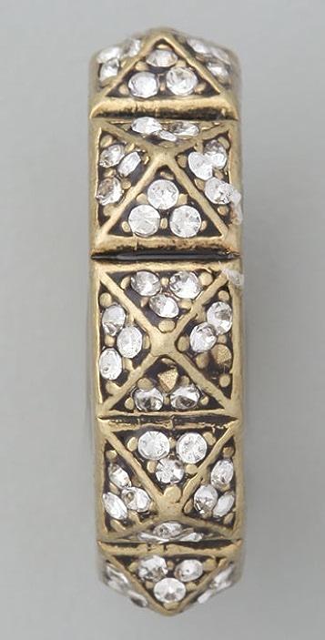 Madewell Pave Pyramid Stud Ring