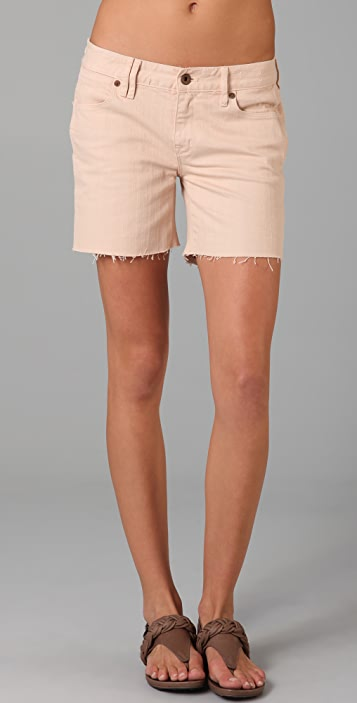 Madewell Garment Dyed Denim Shorts