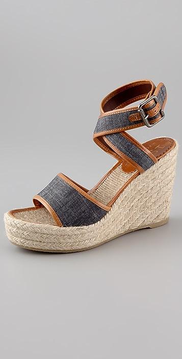 Madewell Espadrille Wedge Sandals