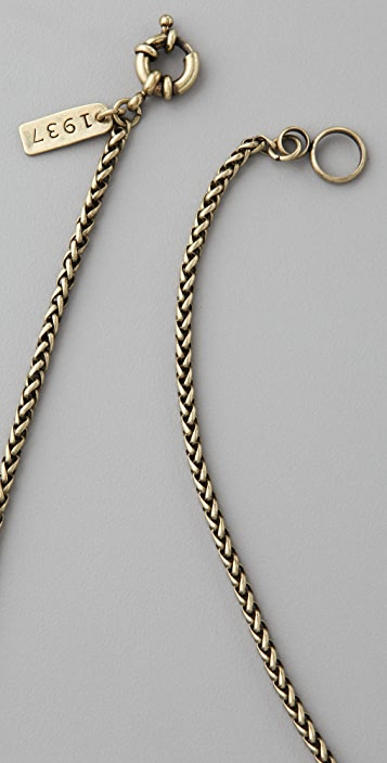 Madewell Captain's Wheel Necklace