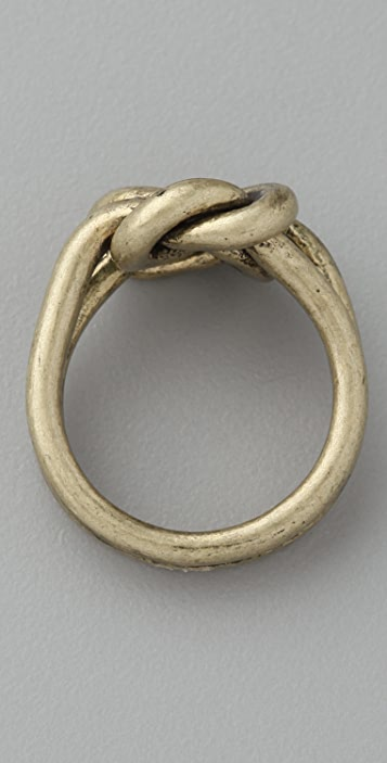 Madewell Forget Me Knot Ring