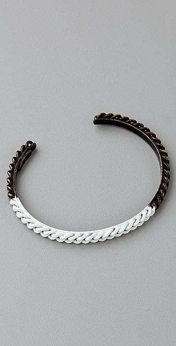 Madewell Colorblock Chain Cuff