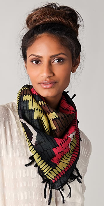Madewell Printed Weave Square Scarf
