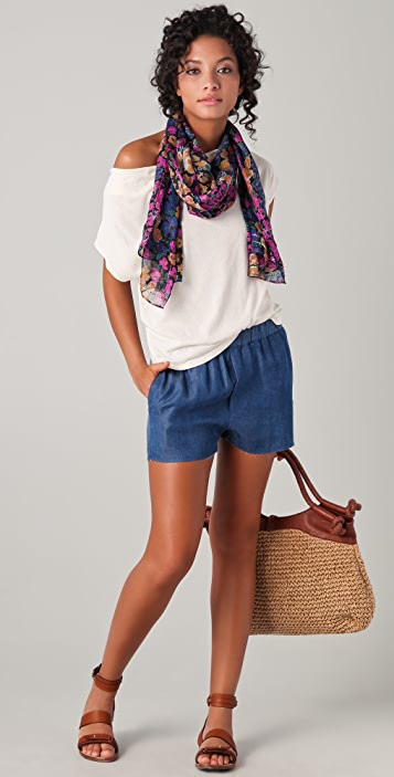 Madewell Spring Meadow Long Scarf