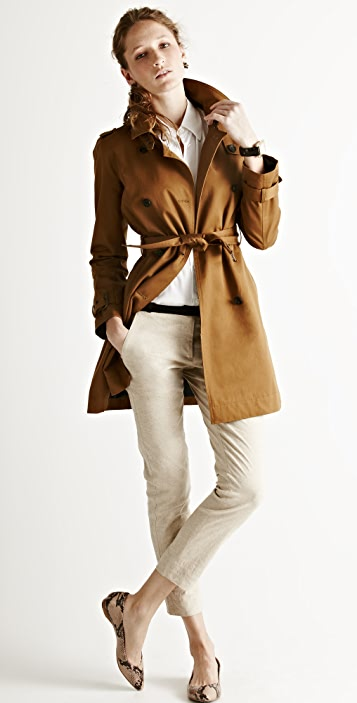 Madewell Harrison Trench Coat