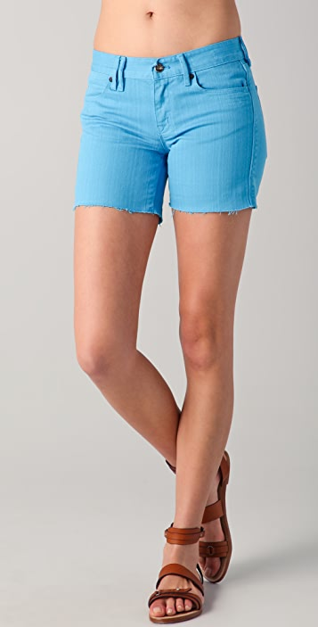 Madewell Garment Dyed Midi Shorts