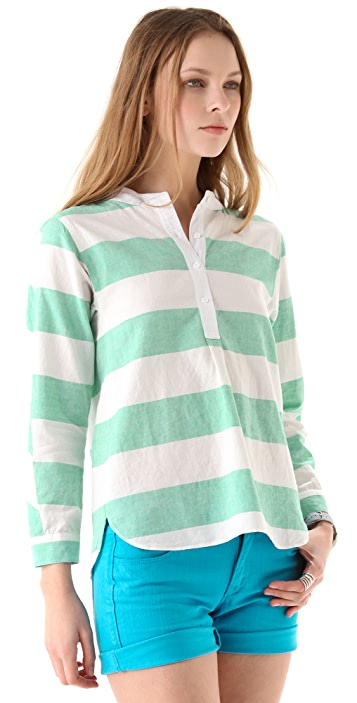 Madewell Striped Rugby Tunic