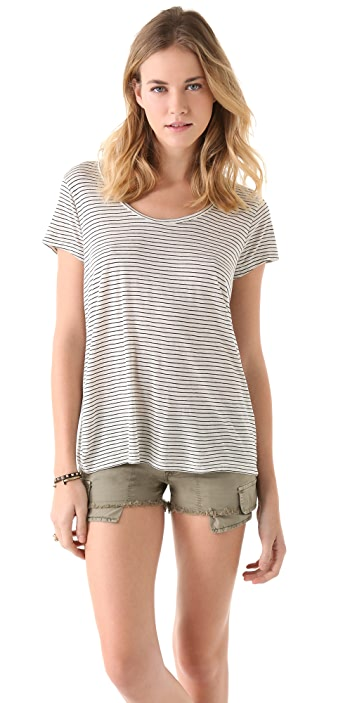 Madewell Allyson Open Back Tee