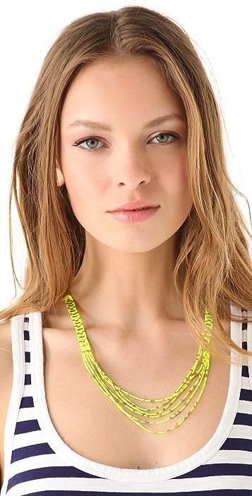 Madewell Friendship Bracelet Necklace