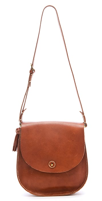Madewell Tassel Flap Bag