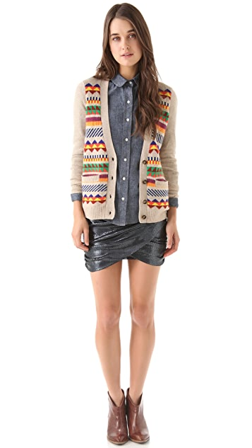 Madewell Pepe Patterned Cardigan
