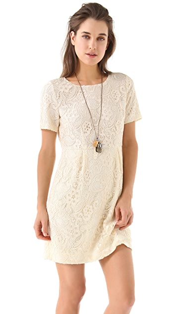 Madewell Birdcage Lace Dress