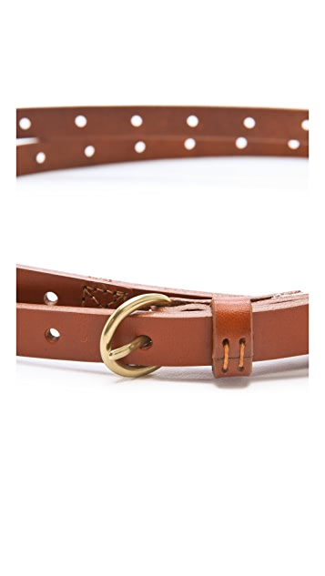 Madewell Willow Double Wrap Belt