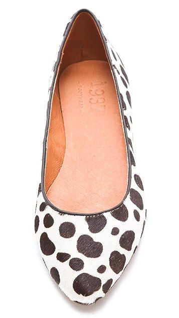 Madewell Leopard Sidewalk Flats