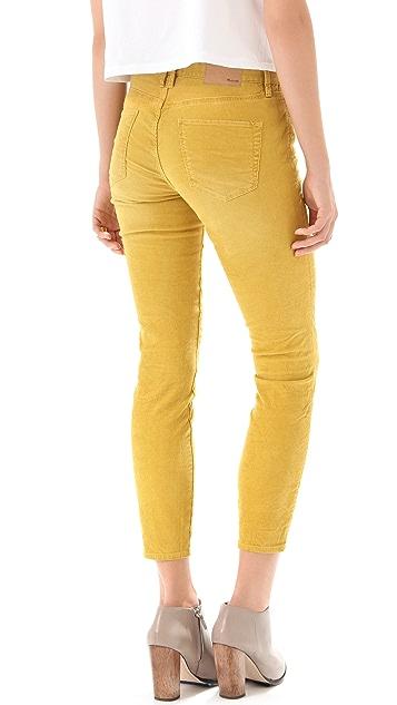 Madewell Skinny Skinny Ankle Corduroy Pants