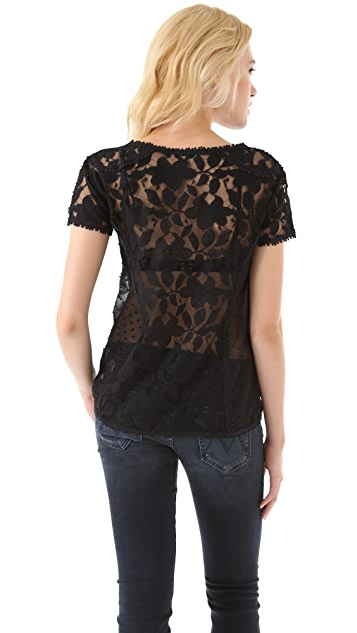 Madewell Carrie Lace Tee