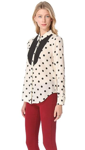 Madewell Block Dot Shirt