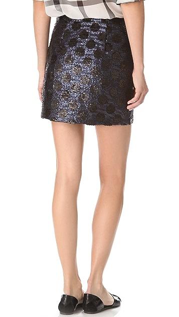 Madewell Sequin Sofie Skirt