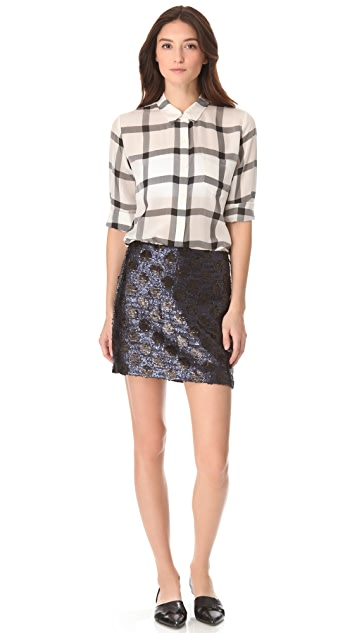 Madewell Sequin Sofie Skirt