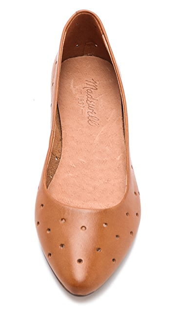 Madewell The Holepunch Sidewalk Skimmer Flats
