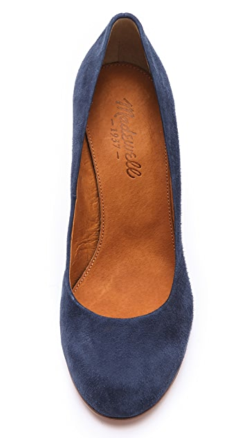 Madewell The Frankie Suede Pumps
