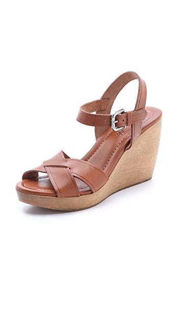 Madewell The Wylie Wedge Sandals