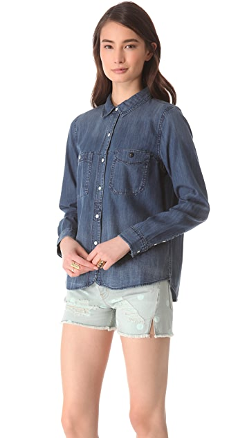 Madewell Denim Boy Shirt