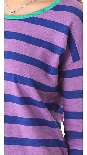 Madewell Striped Slub Long Sleeve Tee