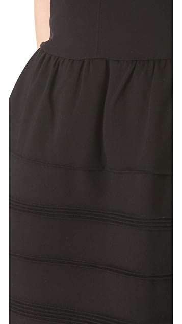 Madewell Knit Scuba Telegraph Dress