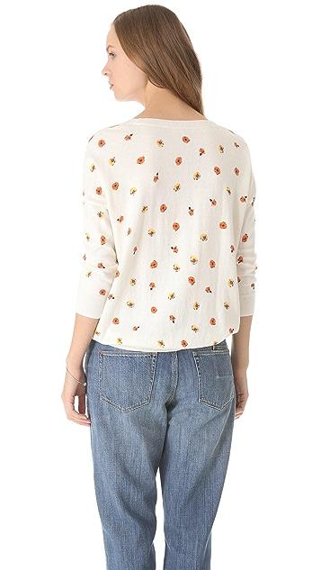 Madewell Rosebud Printed Pullover
