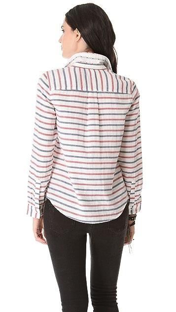 Madewell Striped Boy Shirt