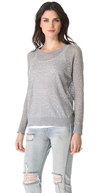 Madewell Ivy Eyelet Pullover