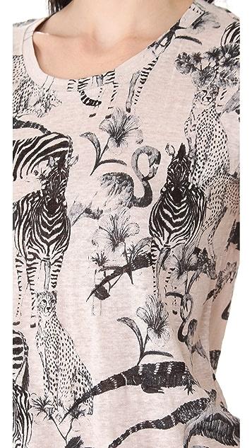Madewell Safari Animal Print Tee