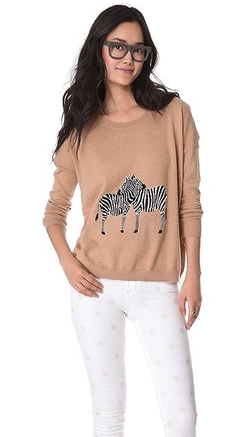 Madewell Zebra Love Pullover