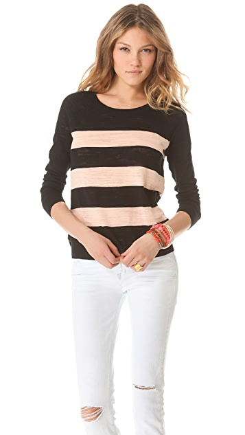 Madewell Phoebe Striped Pullover