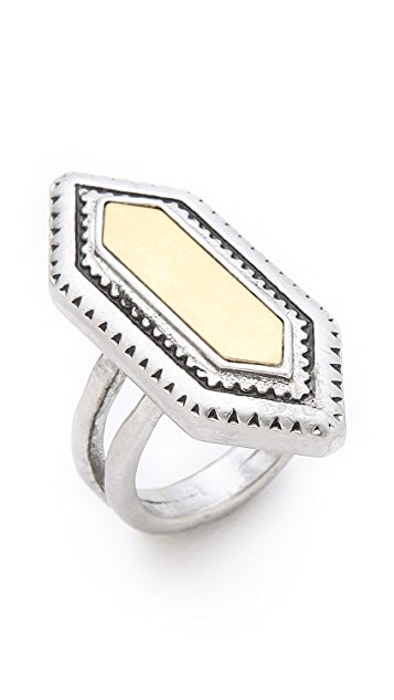 Madewell Textured Statement Ring